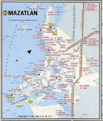 Hermosillo Mexico Map by Mazatlan City Road Mapfree Maps Of Us