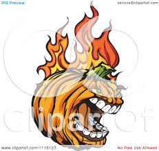 halloween pumpkin cartoons cartoon of a screaming flaming halloween pumpkin mascot royalty