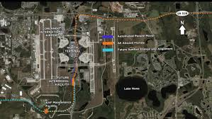 Orlando Airports Map by 3 Reasons Why All Aboard Florida In Orlando Was Delayed Orlando
