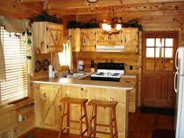 Examples Of Painted Kitchen Cabinets Cabinet Primitive Painted Kitchen Cabinet