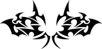 floral tribal tattoo vector free vector in encapsulated postscript