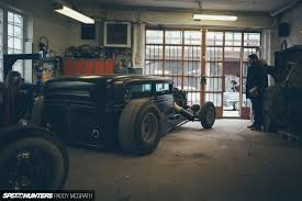 home is where you build it the slammer garage speedhunters