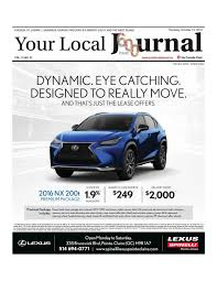 lexus is 350 awd kijiji your local journal october 13th 2016 by your local journal issuu