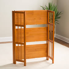 light oak wood desk tabletop book shelf trough rack of arafen