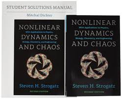 buy nonlinear dynamics and chaos 2nd ed set with student