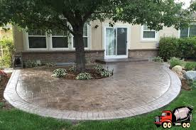 Pictures Of Stamped Concrete Walkways by Denver Stamped Concrete Services Patios U0026 Driveways