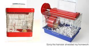 Hamster Bed Hamster Powered Shredder Neatorama