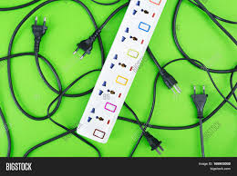 messy electrical cords plugs wires image u0026 photo bigstock