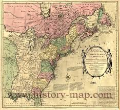 The Map Of United States by Colonial Map Of United States