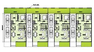houses plan row house floor plans in houses design 7 esteenoivas com