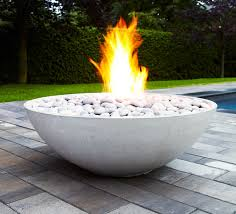 lawn u0026 garden modern glass fireplace sets the mood as wells as
