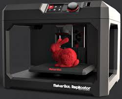 imprimante 3d de bureau imprimante 3d makerbot fait au ces economie nouvelle