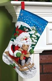 bucilla felt kits santa s sled bucilla christmas kit