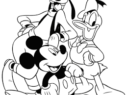 31 mickey mouse and friends coloring pages to print printable