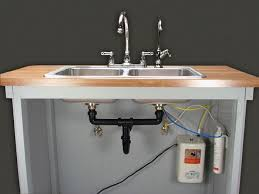 how to install under sink water filter how to install water filter under kitchen sink dytron home