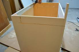 how to replace sink base cabinet diwyatt adjusting the apron sink base before installation