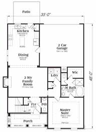 tudor style house plan 4 beds 2 50 baths 2021 sq ft plan 419 116