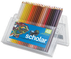 prismacolor scholar colored pencils prismacolor scholar pencils blick materials