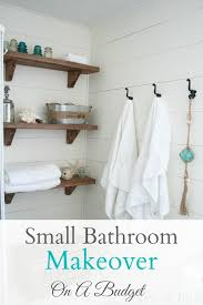 Ideas For Decorating A Bathroom On A Budget Best 25 Small Bathroom Makeovers Ideas On Pinterest Small