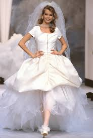 Couture Wedding Dresses Famous Models Wearing Chanel Couture Wedding Dresses