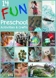 14 preschool activities and crafts