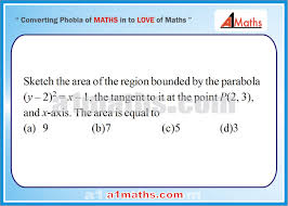 iit jee mains advanced area under curve integral calculus maths