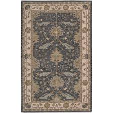 Nourison Area Rugs Nourison Oasis Blue 8 Ft X 10 Ft 6 In Area Rug 002174 The