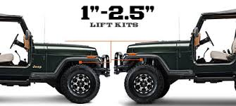 1993 jeep wrangler lift kit jeep yj lift kits 1 2 5 inch 1987 1995 wrangler wrangler