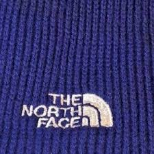 the north face the north face warm blue knit winter hat from