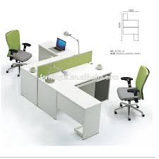 modern 2 person office workstation modern 2 person office