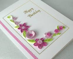 designs of quilling cards decore