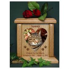 personalized cat gifts heart or oval photo pet urn 50 personalized bsww ps cat