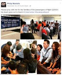 airasia indonesia telp 41 members of airasia flight were from the same church daily mail