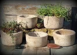 5 simple hypertufa pots lightweight concrete planter