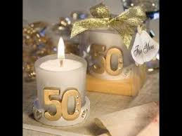 50th anniversary party favors best gold 50th anniversary party favors