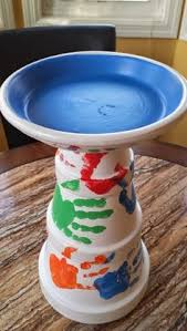 Flower Pot Bird Bath - flower pot bird bath u2026just finished this one very easy project