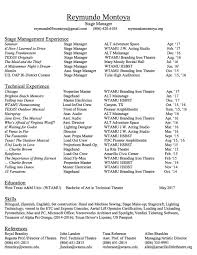stagehand resume examples stage manger resume resume j jason daunter acting resume sample presents your skills and strengths in details stage manager