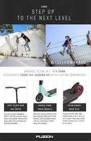 amazon com fuzion z300 pro scooter complete 2018 black