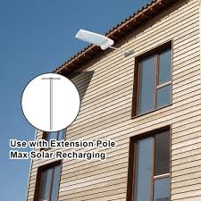 innogear 29 led solar gutter lights with extension pole outdoor