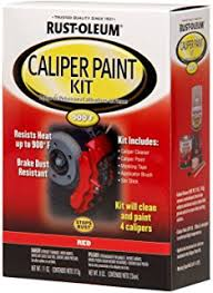 amazon com g2 high temperature brake caliper paint system set red