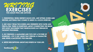 how to write raps on paper writing exercises for all ages writer s block is the biggest issue that authors face there are just times when they stare at a blank page for hours without a thought to write down