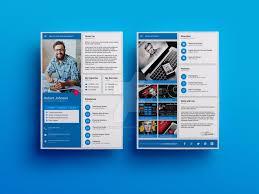 Unique Cv Templates Free Resume Templates Material Design Cv Template Iamvinyljunkie