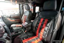 custom jeep seats unique special edition by will castro designs 2016 jeep wrangler