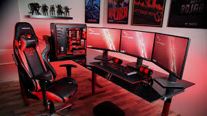 ultimate gaming desk setup ultimate gaming desk setup best ever youtube gaming setup desk zvykom