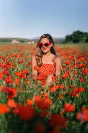 poppy fields in france gal meets glam