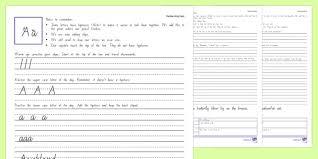 year 3 u0026 4 new zealand handwriting activity sheets new zealand
