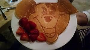 Mickey Mouse pancake Picture of The Fletcher Ankeny TripAdvisor