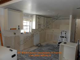 Install Kitchen Base Cabinets Kitchen Cabinets Installation