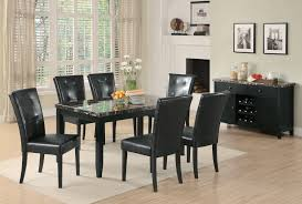 faux marble dining room table set anisa collection 102791 faux marble dining set coaster furniture