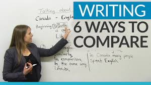 sample comparison essays improve your writing 6 ways to compare youtube